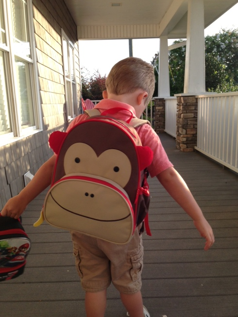 Cutest backpack ever? (Nice job, J!)